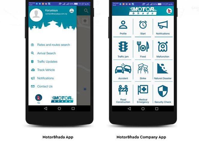 Motorbhada App: A Comprehensive Public Transportation App